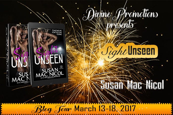 Blog Tour: Exclusive Excerpt & Giveaway Susan Mac Nicol - Sight Unseen
